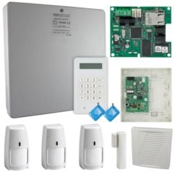 Honeywell Galaxy Flex Wireless Alarm With Ethernet Module