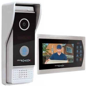 "DoorKnox Video Door Entry With 7"" Monitor"